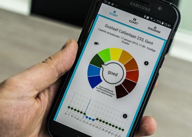 Vlaamse Milieumaatschappij lanceert app om luchtkwaliteit te bekijken