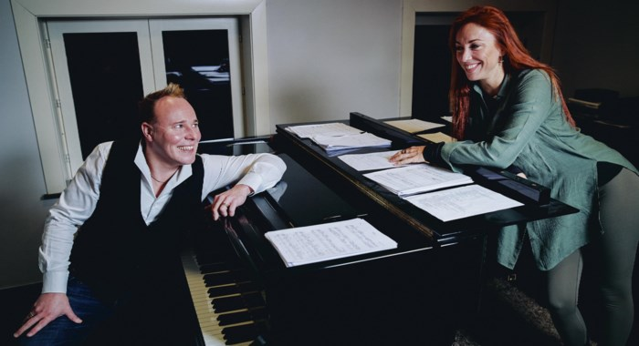 """Natalia en Jef Neve vinden elkaar voor verrassende theatertournee: """"Het wordt zeker geen 'Natalia goes jazz' of 'Jef Neve goes pop'"""""""