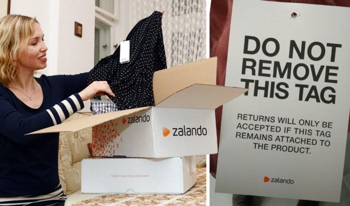 Zalando is het beu: groot etiket moet voorkomen dat je gedragen kleding terugstuurt
