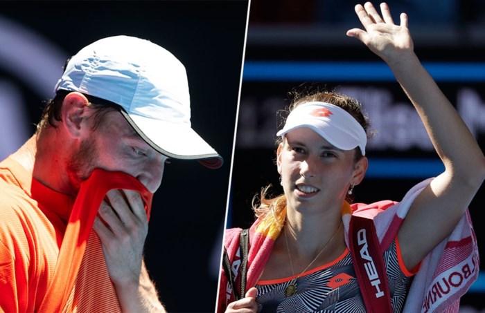 Einde verhaal voor Elise Mertens en David Goffin op Australian Open: landgenoten kansloos uitgeschakeld in derde ronde