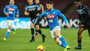Dries Mertens helpt Napoli met assist aan driepunter tegen Jordan Lukaku