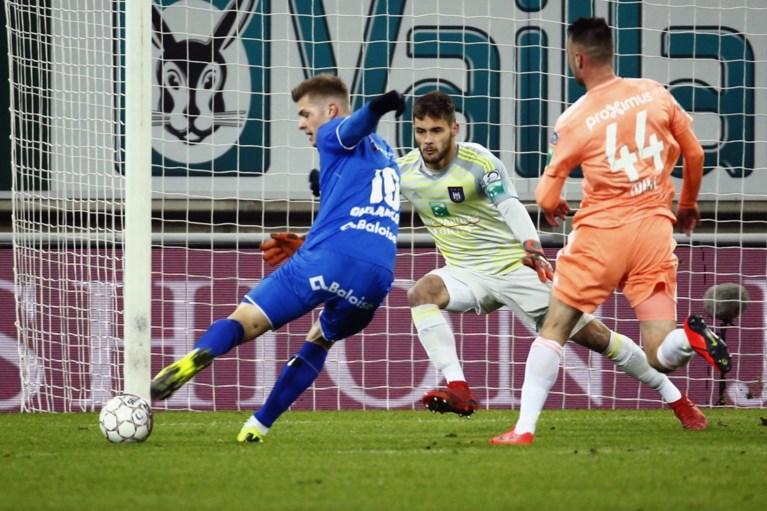 Rutten debuteert bij Anderlecht met 1-0 nederlaag in Gent