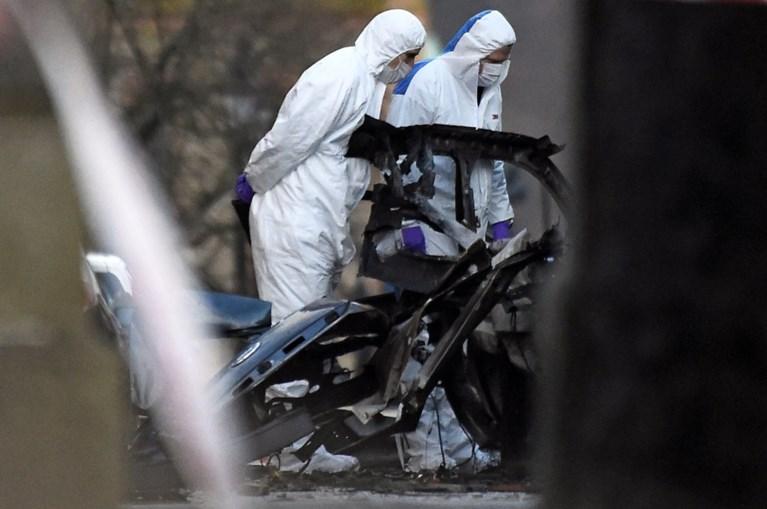 Twee mannen opgepakt voor ontploffing bomauto in Noord-Ierland