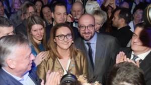 """Gwendolyn Rutten op receptie Open VLD: """"Als we de voordeur sluiten, kan het niet dat iemand VIP-tickets verkoopt voor de achterdeur"""""""