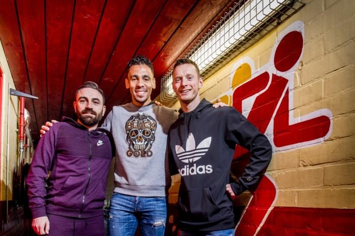 """Mechels trio gelooft in bekerstunt én promotie: """"Stel je voor: een tweedeklasser die Europees voetbal haalt. Nog nóóit gebeurd in België"""""""
