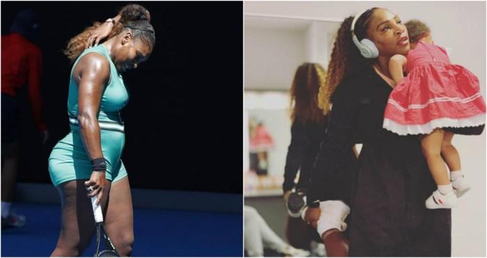 """""""Ik voelde mij superfit.Tot ik neerzat en drie buiken zag"""": sinds ze mama werd, won Serena Willams geen grand slam meer"""