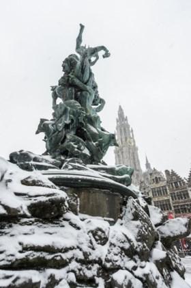 Nieuwe sneeuwzone op komst: mogelijk lokale winterse buien in Antwerpen