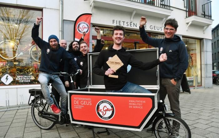 Antwerpse De Geus mag zich beste fietsenwinkel van België noemen