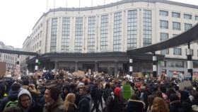 """Recordaantal klimaatspijbelaars aanwezig in Brussel: """"We blijven komen"""""""