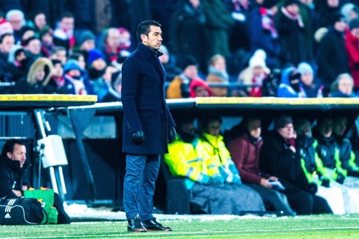Giovanni van Bronckhorst kondigt afscheid bij Feyenoord aan