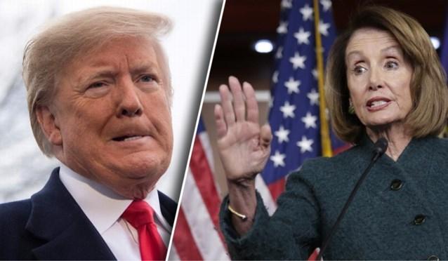 Trump gaat jaarlijkse toespraak dan toch uitstellen tot na shutdown onder druk van Nancy Pelosi