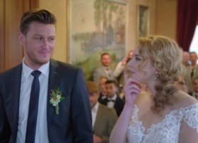 Plaagstoten en een verborgen boodschap: dit waren de eerste huwelijken in 'Blind Getrouwd'