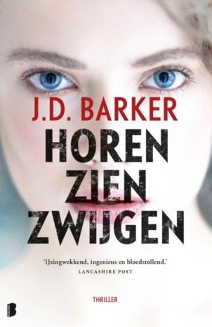 BOEK. J.D. Barker - Horen zien zwijgen