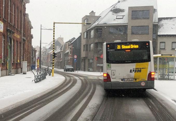 Bussen De Lijn ontnemen zicht op verkeerslicht
