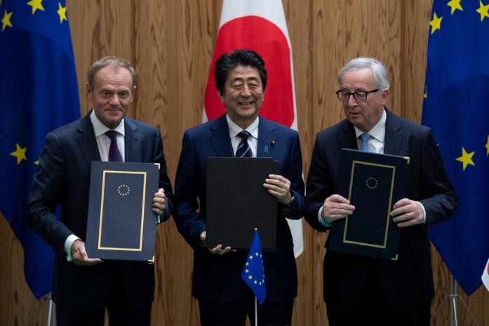 Grootste vrijhandelszone ter wereld, tussen EU en Japan, van start