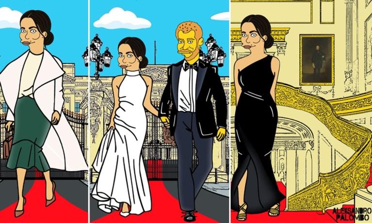 ROYALS. Ken je deze hilarische bijnamen van de Britse royals al? En zo ziet Meghan Markle eruit als tekenfilmfiguur