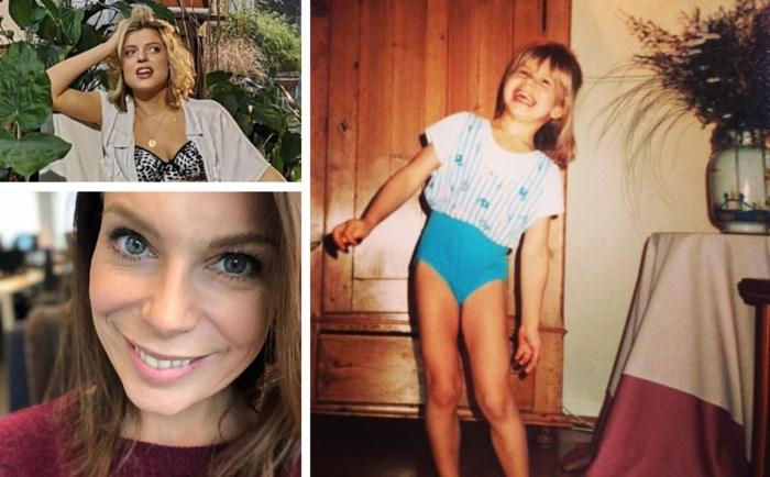 Gluren bij BV's: Ella Leyers toont zich van haar sexy kant. En herken je het meisje op deze jeugdfoto?