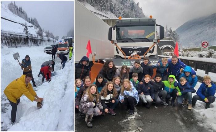 "Bussen vol Vlaamse sneeuwklassers zitten hele nacht vast: ""Na 21 uur 10 kilometer afgelegd"""