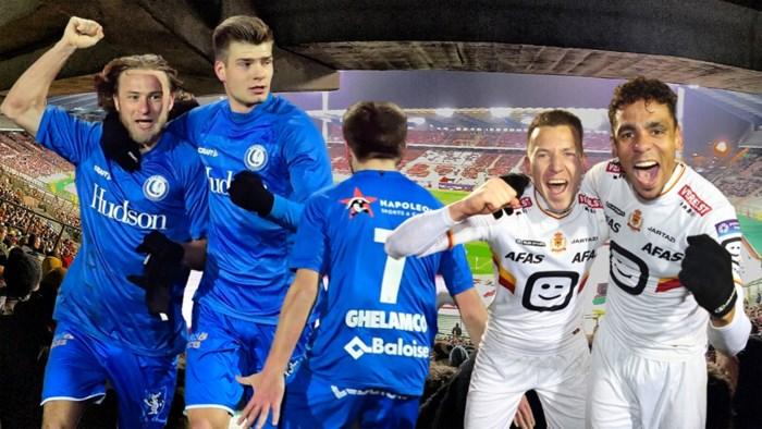 Bekerfinale tussen AA Gent en KV Mechelen van 1 mei wordt om 14u30 gespeeld
