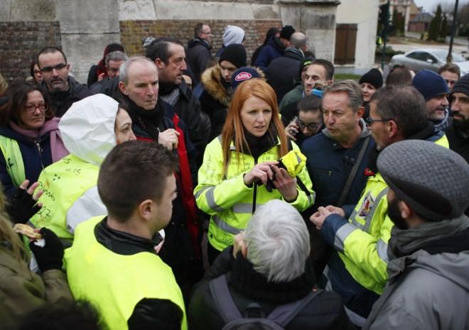 Interne ruzies zorgen voor verdeeldheid gele hesjes in aanloop naar de Europese verkiezingen