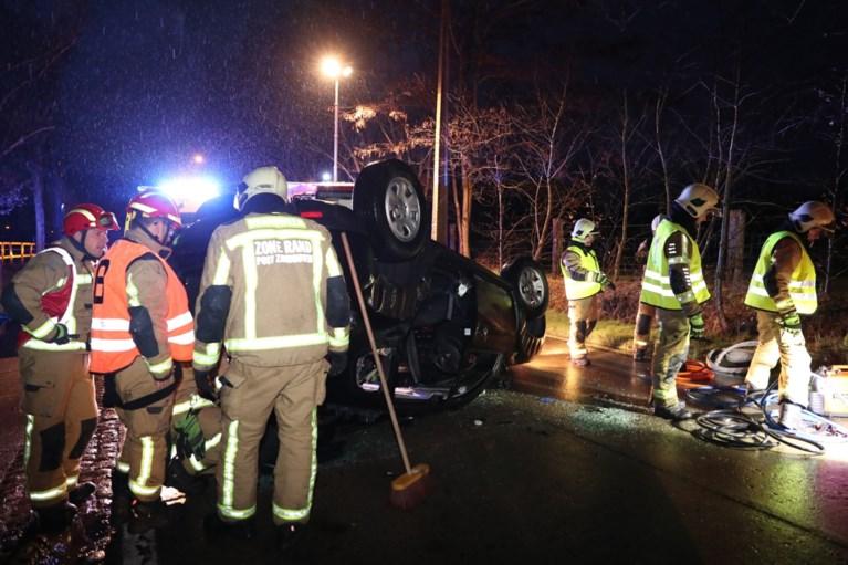 Bestuurder gewond na ongeval in Zandhoven