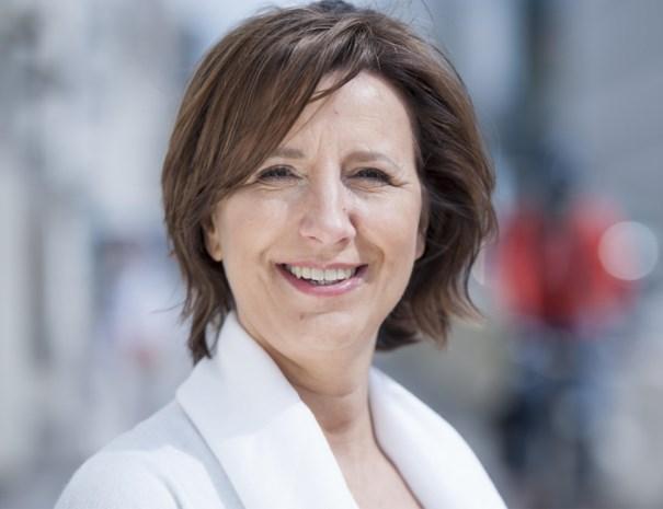 Kathleen Krekels (N-VA) smijt zich ondanks zware chemo in verkiezingscampagne