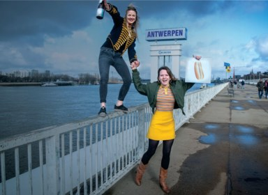 Lizzie brengt met café Tram 3 de roaring twenties naar 't Stad