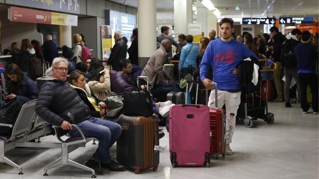 Tot woensdagavond geen vliegverkeer mogelijk in ons land door staking
