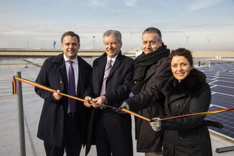 Antwerps sorteercentrum van bpost bedekt met 3.700 zonnepanelen