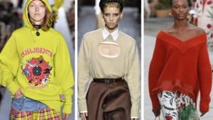 Met een beetje bloot en pittig geel: de leukste truien voor de lente