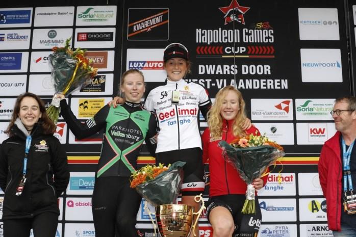 Belgische selectie met Jolien D'hoore topt affiche van tweede Omloop van de Westhoek