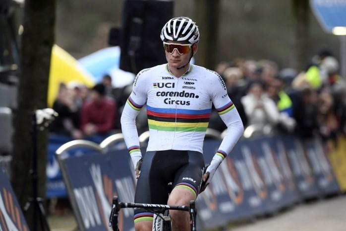 Mathieu van der Poel is onverzadigbaar: wereldkampioen is ook in Vestingscross torenhoog favoriet