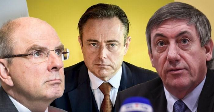 'War on drugs' in Antwerpen: Bart De Wever haalt uit naar Koen Geens, die de schuld doorschuift naar Jan Jambon