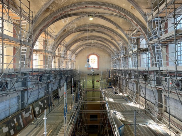 Unieke kans: bezoek interieur Begijnhofkerk in de stellingen