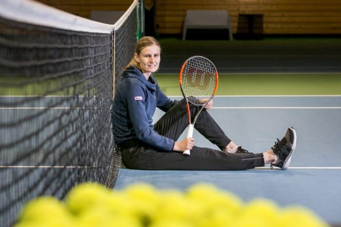 """Tennisster Greet Minnen, partner van Alison Van Uytvanck: """"Ik sloeg thuis zelfs binnen af en toe een balletje"""""""
