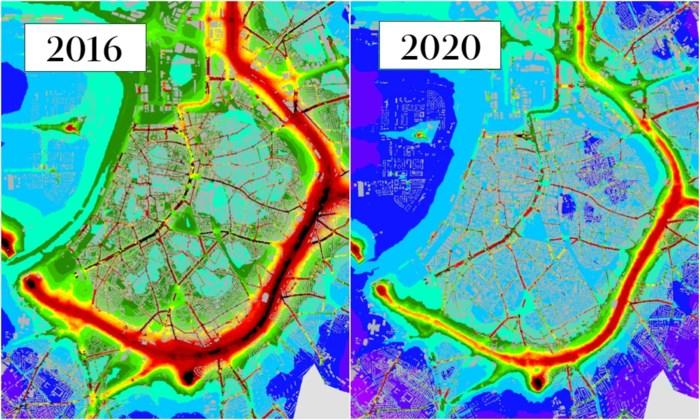 Luchtkwaliteit in Antwerpen verbetert, maar Ring, drukke verkeersassen en tunnelmonden blijven probleem