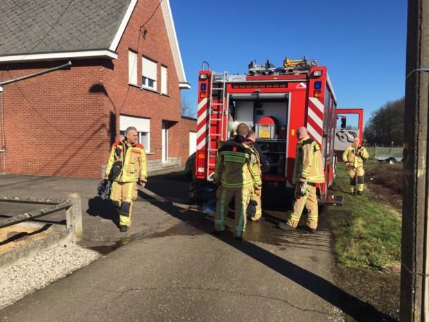 Bewoners krijgen brand in serre zelf onder controle
