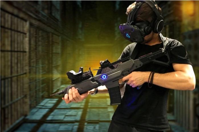 Dino's en zombies in derde virtual realityruimte van 't Stad