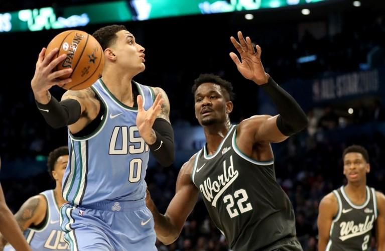 NBA. Kyle Kuzma leidt VS naar winst tegen wereldselectie in opwarmertje voor All Star Game