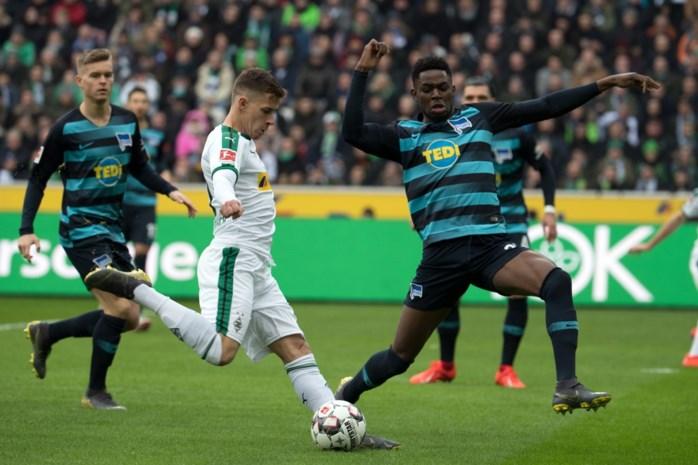 Borussia Mönchengladbach moet de rol lossen voorin na gelijkspel tegen Eintracht Frankfurt