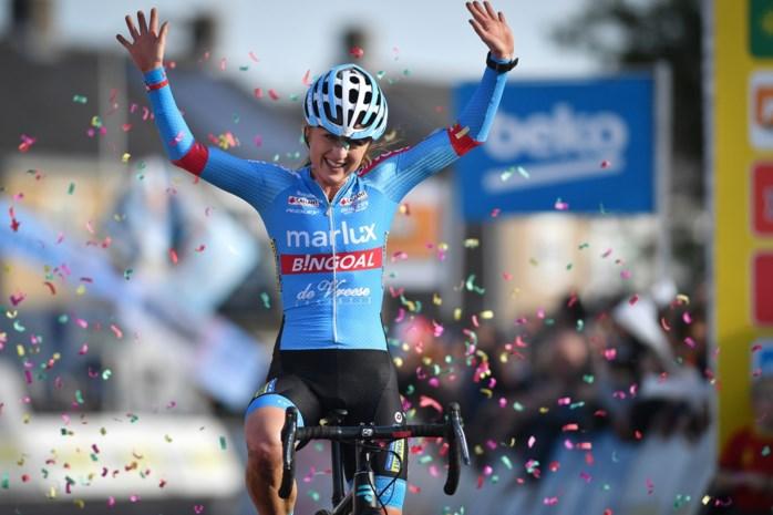 Denise Betsema wint bij de vrouwen in Hulst, Loes Sels is beste Belgische op plaats zes