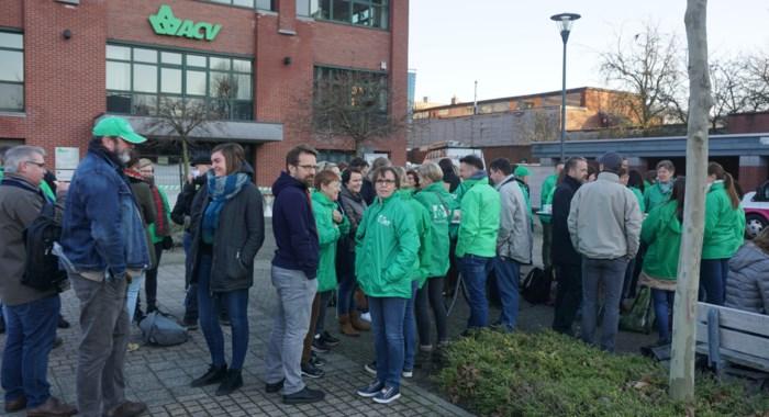 """""""Als de vakbond zelf staakt, zit het echt wel hoog"""": werknemers ACV-Dienstencentra hekelen eigen personeelsbeleid"""