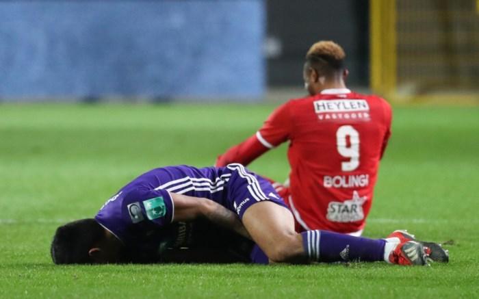 Slecht nieuws voor Anderlecht: rechterflankspeler Andy Najar is out voor cruciale periode