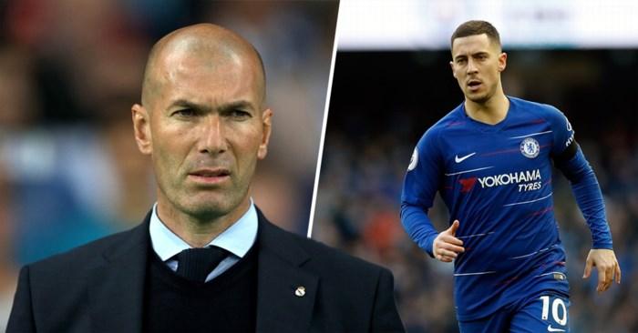 Eden Hazard spil in trainerswissel bij Chelsea? Zinedine Zidane toont interesse, maar stelt eisen