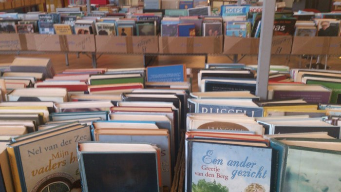 Boekenmarkt in Domein de Renesse