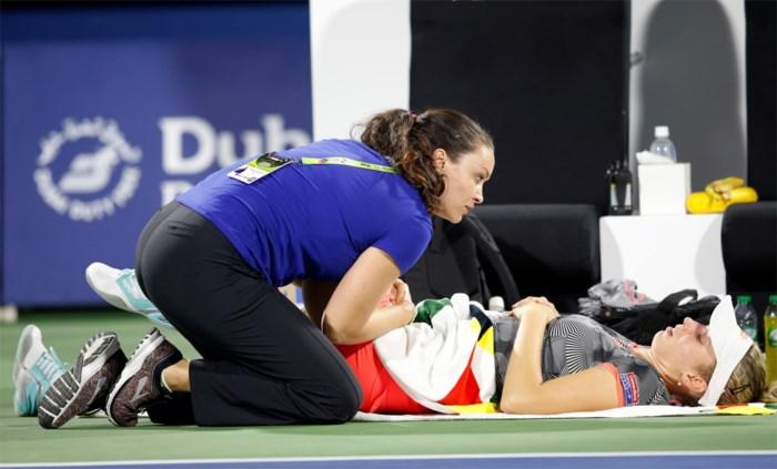 """Vermoeide Elise Mertens slaagde er niet in Henin op te volgen in Dubai: """"De ene week is de andere niet"""""""