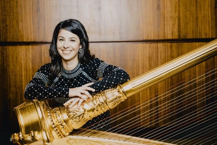 Harpiste enige Belgische muzikante in toporkest Wiener Philharmoniker: Anneleen Lenaerts speelt vanavond in Elisabethzaal