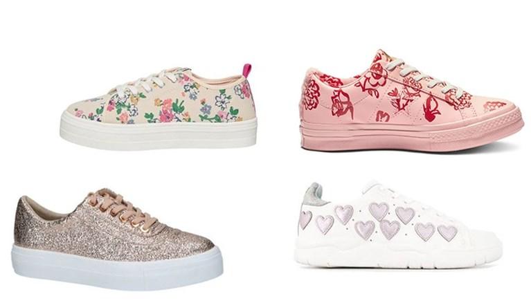 Vijf hippe sneakertrends voor de lente