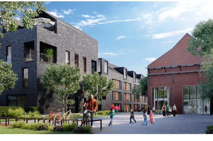Nieuwe woonwijk langs Leuvensesteenweg: loodsen maken plaats voor 48 woningen