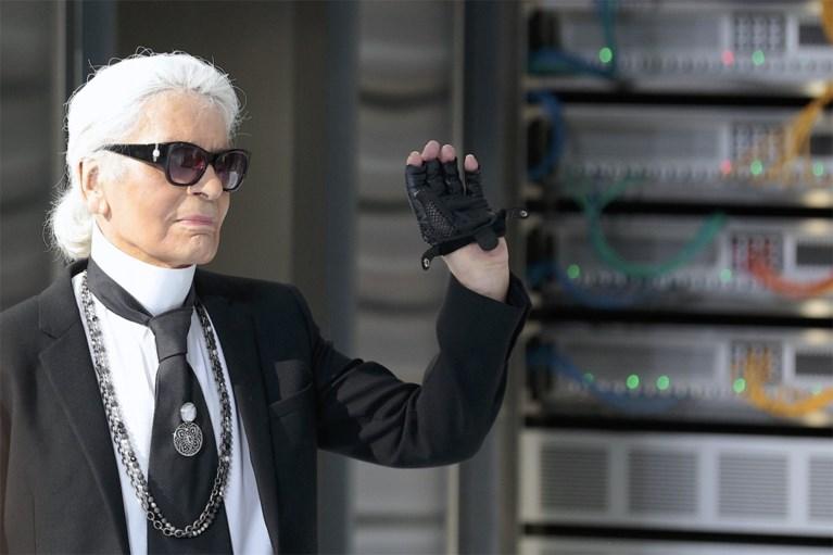 Modeontwerper Karl Lagerfeld overleden